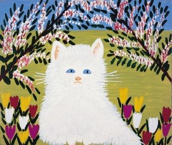 *Maud Lewis_White Cat_1960.jpg
